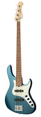 Sadowsky MetroLine 24-Fret Vintage J/J Bass Red Alder Body 4-String – Solid Dark Lake Placid Blue Metallic High Polish