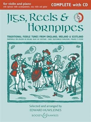 Fiddler Collection / Jigs, Reels & Hornpipes Complete Edition ( Violin And Piano ) / Edward Huws Jones / Boosey and Hawkes