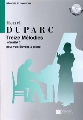 Treize Mélodies Volume 1 Henri Duparc / Henri Duparc / Salabert