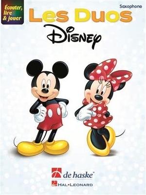 couter, lire & jouer – Les Duos Disney 2 saxophones de même ton /  / De Haske