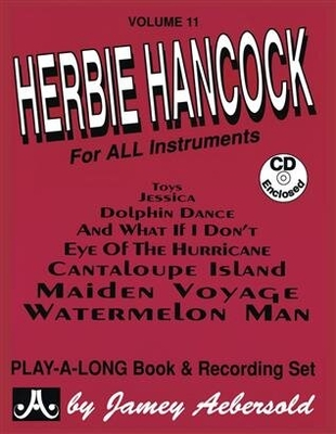 Jamey Aebersold Play-A-Long / Aebersold Vol. 11 Herbie Hancock Jazz Play-Along Vol.11 / Herbie Hancock / Aebersold