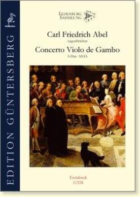 Concerto Violo de Gambo in A major A9:1A Carl Friedrich Abel (attributed) / Carl Friedrich Abel / Guntersberg