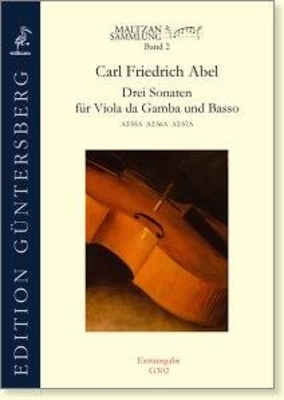 Maltzan Collection Vol. 8, Three Sonatas (D major, C major, D major) Carl Friedrich Abel / Carl Friedrich Abel / Guntersberg