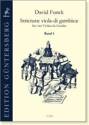 Stricturae viola-di gambicae volume 1 (no. 1-16) David Funck / David Funck / Guntersberg