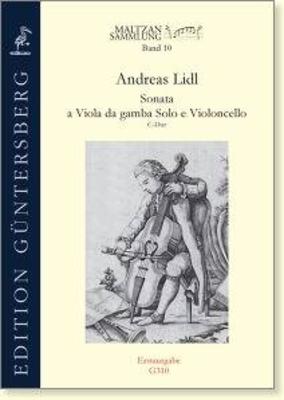 Sonata a Viola Da gamba Solo e Violoncello C major Andreas Lidl / Andreas Lidl / Guntersberg