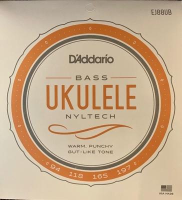 D'Addario Jeu Ukulélé Basse, »Nyltech» (Aquila) .094 -.197 Nyltec Material