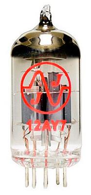 JJ Electronic Lampe de préamplification 12AY7