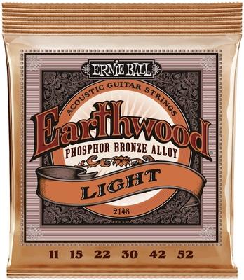 Ernie Ball Earthwood Phosphor Bronze, Light 11-52