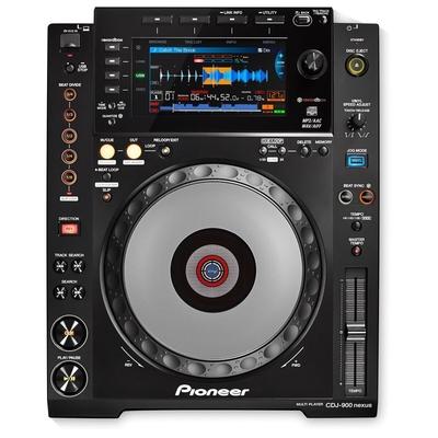 Pioneer CDJ-900NXS Digital Multi-Player / Schwarz
