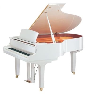 Yamaha Pianos Acoustic C3X PWH Blanc poli-brillant 186 cm