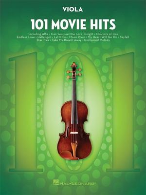 101 Songs / 101 Movie Hits for Viola /  / Hal Leonard