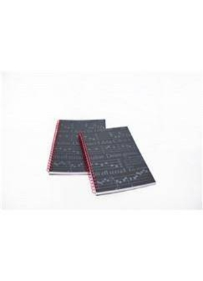 Music Sales Ltd Carnet St Cecilia A5 Notebook – Black Finish