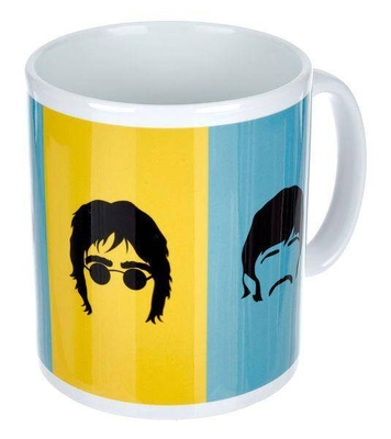 Hal Leonard Beatles Blue And Yellow Mug