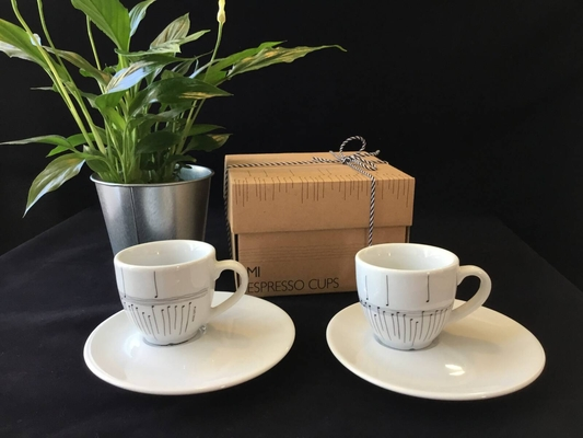 Hal Leonard Tasse Music Gift Portugal Espresso And Saucer Set Of 2