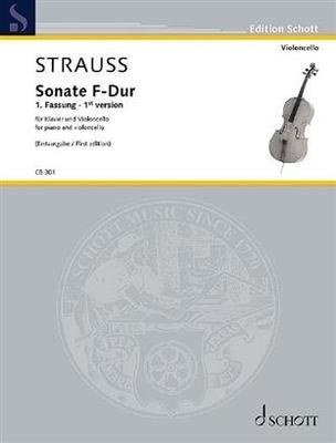 Sonate F-Dur Sonate pour violoncelle et piano en fa majeur / Richard Strauss / Schott