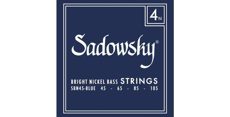Sadowsky Sadowsky Blue Label Bass String Set Nickel – 4-String 045-105