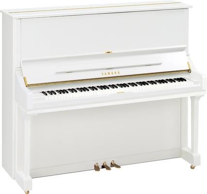 Yamaha Pianos Acoustic U3 PWH, blanc poli-brillant, 131 cm