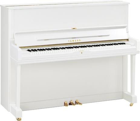 Yamaha Pianos Disklavier YUS1 Disklavier ENSPIRE blanc poli-brillant, 121 cm DYUS1 ENST PWH
