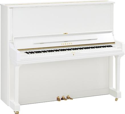 Yamaha Pianos Silent YUS3 SH2 PWH Blanc poli-brillant, 131 cm