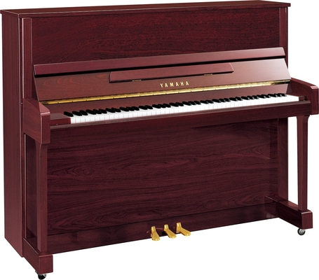 Yamaha Pianos Silent B3 SC2 PM Silent, Acajou poli-brillant, 121 cm