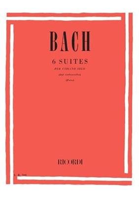 6 Cello Suites – Violin Solo Trascritte dall'originale per violoncello E. Polo / Johann Sebastian Bach / Ricordi