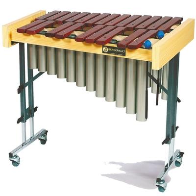 Bergerault PXACH Xylophone Alto Chromatique sur pied avec resonateurs