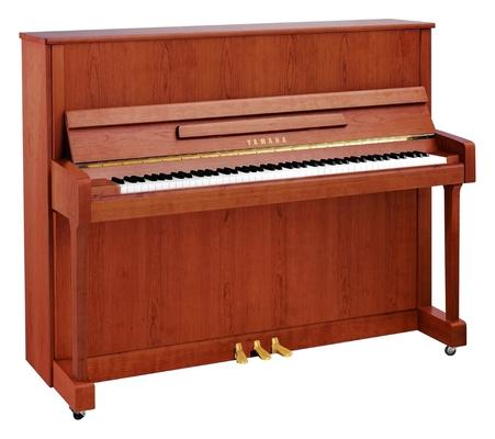 Yamaha Pianos Acoustic B3 SNC Cerisier naturel satiné, 121 cm