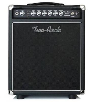 Two-Rock Studio Signature 35 watt Combo, Black Chassis, Black Bronco