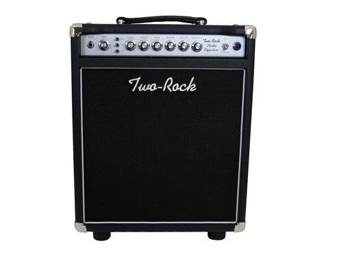 Two-Rock Studio Signature 35 watt Combo, Silver Anodize, Black Bronco