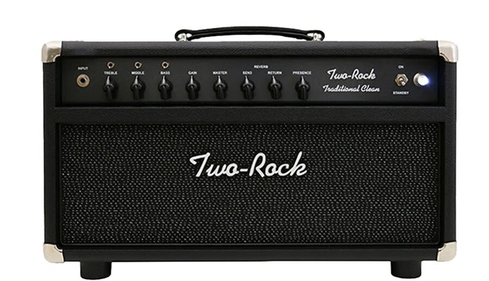 Two-Rock Traditional Clean 100/50 Head, Black Bronco