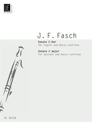 Sonate / Johann Friedrich Fasch / Milan Turkovic / Universal Edition