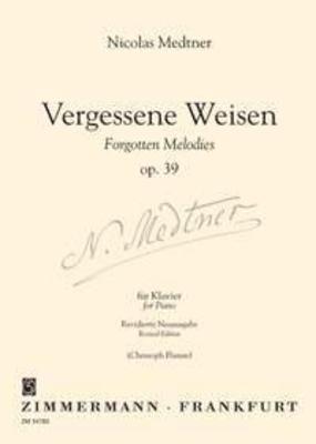 Vergessene Weisen op. 39 / Nikolai Medtner / Zimmermann