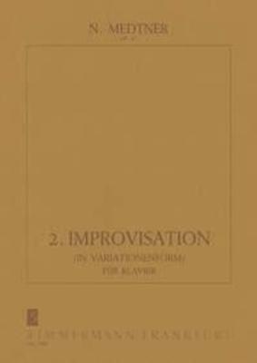 Zweite Improvisation op. 47 in Variationenform / Nikolai Medtner / Zimmermann