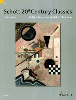 20Th Century Piano Classics 54 Pièces de Jancek à Chick Corea / Fritz Emonts / Rainer Mohrs / Schott