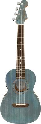 Fender Dani Harrison Ukulele Walnut Fingerboard Turquoise