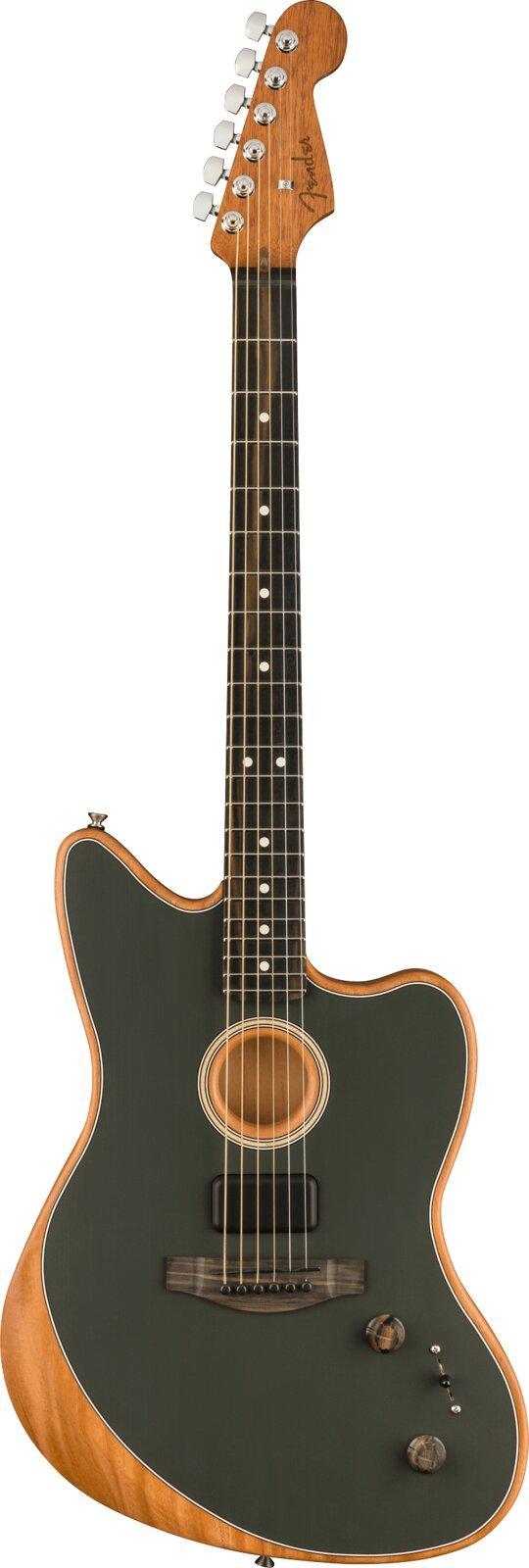 Fender American Acoustasonic Jazzmaster Tungsen Ebony Fingerboard : photo 1