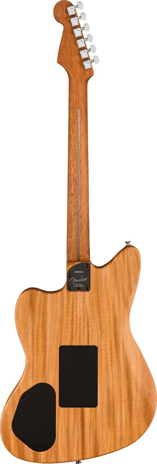 Fender American Acoustasonic Jazzmaster Tungsen Ebony Fingerboard : photo 2