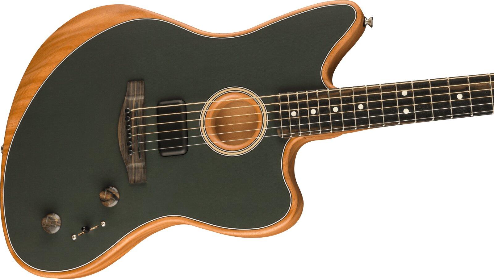 Fender American Acoustasonic Jazzmaster Tungsen Ebony Fingerboard : photo 3
