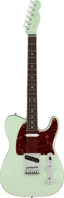 Fender Ultra Luxe Telecaster, Rosewood Fingerboard, Transparent Surf Green