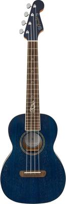 Fender Dhani Harrison Ukulele Walnut Fingerboard Sapphire Blue