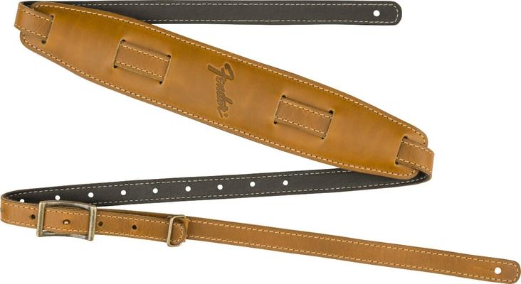 Fender Mustang Vintage Saddle Strap Butterscotch