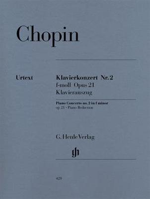 Henle Urtext Editions / Konzert 2 f-moll Opus 21 Concerto No 2 / Frédéric Chopin / Henle