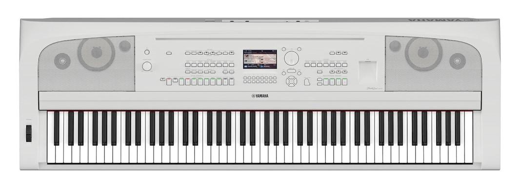Yamaha DGX-670WH  Piano Arrangeur blanc mat