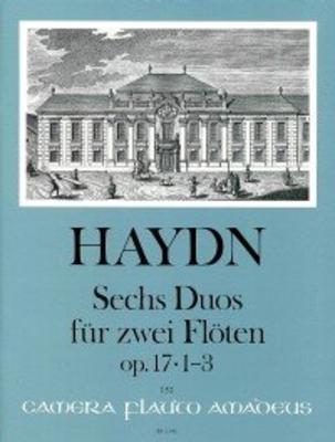6 Duos op. 17 – Heft I: Duos 1-3 für 2 Flöten / Joseph Haydn / Bernhard Päuler / Amadeus