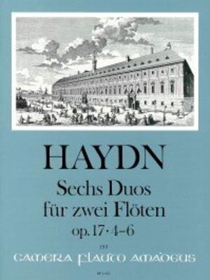 6 Duos op. 17 – Heft II: Duos 4-6 für 2 Flöten / Joseph Haydn / Bernhard Päuler / Amadeus