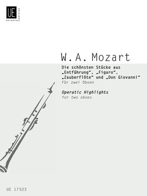 Operatic Highlights / Wolfgang Amadeus Mozart / Universal Edition