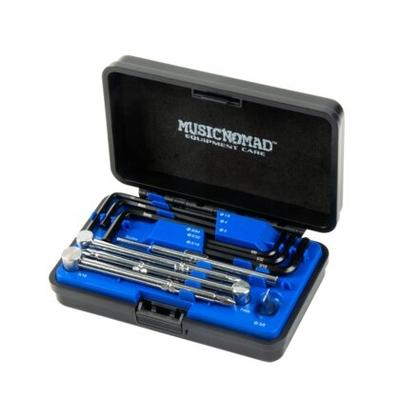 Music Nomad Premium Guitar Tech Truss Rod Wrench Set 11 pièces