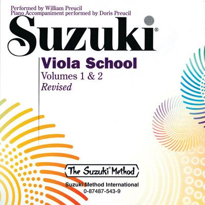Suzuki Viola School 1 & 2 CD / Shinichi Suzuki / Alfred Publishing