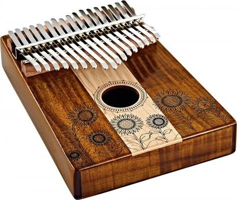 Meinl KL1706H Sound Hole Kalimba 17 notes Maple & Acacias