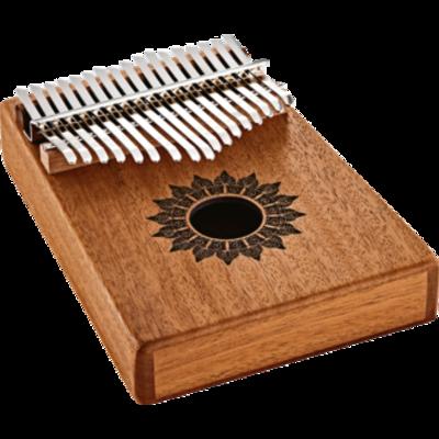 Meinl KL1708H Sound Hole Kalimba 17 notes Mahagony
